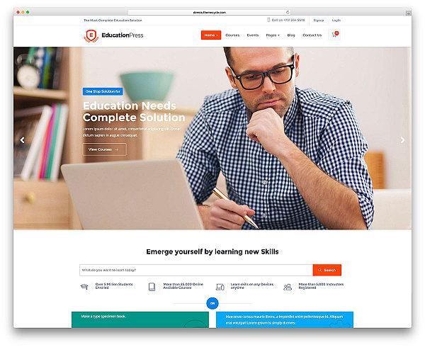EducationPress - LMS wordpress