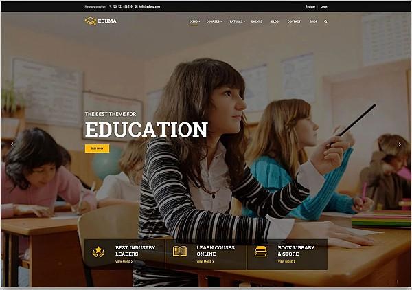 Szablony do kursów online w Wordpresie