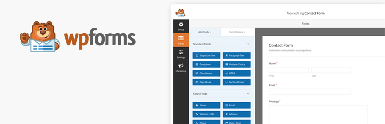 WPForms - formularze w Wordpress